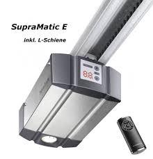 hormann supramatic e garage door opener series 3 with l rails long