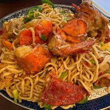 girl wants lobster noodles ...
