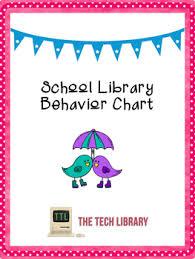 Chart For School Behavior Chart For School Libraries