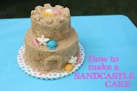 How To Make A Sandcastle Cake Heather Drive
