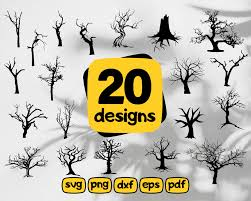 Drag & drop custom svg files here. Dead Tree Svg Dead Trees Silhouettes Bundle Svg Spooky Halloween Tree Clipartic