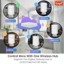 <b>Tuya</b> ZigBee3.0 New Mini WiFi Radiator Actuator Smart ...