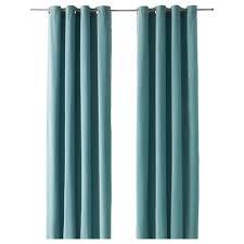 light blue curtains. ikea sanela curtains, 1 pair cotton velvet gives depth to the colour and softness light blue curtains