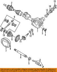 Details About Ford Oem Front Differential Pinion Shim 1l2z3b067aa