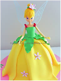 Tinkerbell Fairy Birthday Cake Children Birthday Cakes Girls