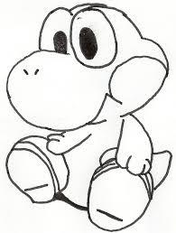 How To Draw Baby Yoshi