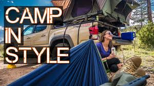 Roof Top Tent PT 2 - Truck / Car Camping in Style - Tacoma ...