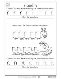 Kindergarten Writing Pages Free Printable Kindergarten Writing Worksheets Word Lists And