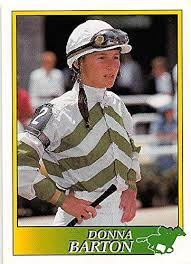Donna Barton trading card (Horse Racing) 1993 Jockey Star #141 at Amazon's  Sports Collectibles Store