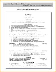 Hybrid Resume Builder New Bination Resume Template Templates