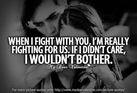 Love Fight Quotes Adorable When I Fight With You Picture Quotes Mydearvalentine