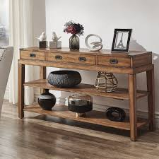 Lonny 3-Drawer Wood Console Table TV Stand by iNSPIRE Q Classic - Free  Shipping Today - Overstock.com - 23122447