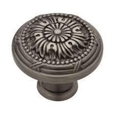 cabinet knobs silver. Heirloom Silver Round Vintage Cabinet Knob Knobs