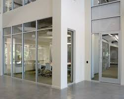 Interior office Grey Series 487 Interior Office Front System Herzing College Crlarch Interior Office Partitions