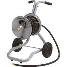 3 top er advantage exclusive strongway garden hose reel cart holds 5 8in x 150ft hose