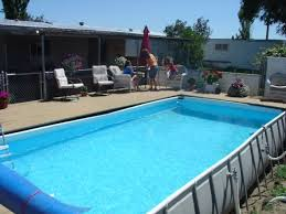 intex rectangular above ground pools. Perfect Intex Around An Intex Pool U2022 Above Ground Pools Trouble Free Intended Rectangular