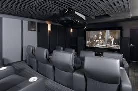 modern home theater seating interior graceful light gray home theater  feature silver doff graceful light gray . modern home theater ...