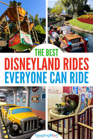 disneyland rides for all ages