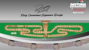 Supercross Seating Chart Ricky Carmichael Signature Design Unveiled For 2012 Daytona