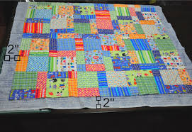 Finish An Easy Self Binding Quilt & Make a 2