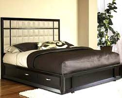 King Bed Frame With Storage Underneath King Size Bed Frame With ...