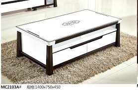 glass top display coffee table with drawers coffee table glass top display drawer prestigious table glass top display coffee table with drawers