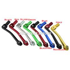 red cnc folding gear shift lever for 50cc 70cc 110cc 125cc dirt