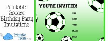 Soccer Party Invitation Template Free Printable Soccer Birthday Party Invitations Soccer