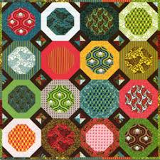 Quilt Inspiration: Free Pattern Day: Snowball Quilts & Mexican Tiles Snowball quilt, 45 x 60
