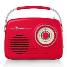 office radios. Akai Retro AM FM Radio \u2013 Red Office Radios