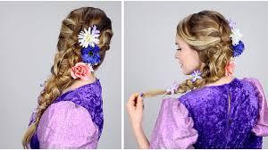 ラプンツェルの髪型のやり方ヘアアレンジ方法 ディズニーログ