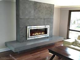 contemporary fireplace surrounds gas fireplace surround contemporary living room new concrete modern fireplace hearth ideas