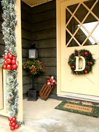 Christmas Decorating Front Porch Christmas Decorating Ideas Country Christmas