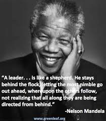 Servant Leadership Quotes Fascinating A Leaderis Like A Shepard He Stays Beind The Flock Letting The