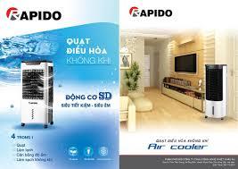 Quạt điều hòa không khí Rapido RAC80-D chính hãng