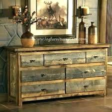 rustic looking furniture. Rustic Looking Furniture Loing Dresser Made From Free By Log Stores On In Throughout