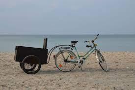 how to make a bike trailer hitch the