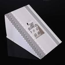 Professional Focus Calibration Ruler Folding Card Lens