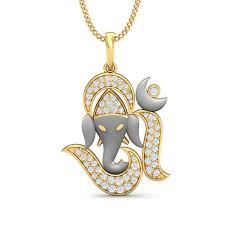 pure ganesha pendant gold pendants for