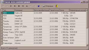 База данных Учет компьютерного оборудования ado access  дипломная работа по програмированию