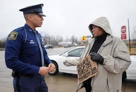 Panhandling on freeway ramps: State trooper tries to make a ...