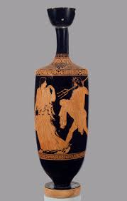 death burial and the afterlife in ancient essay   terracotta lekythos oil flask