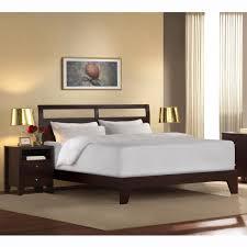 King Low Profile Platform Bed Frame — Platform Beds : Low Profile ...