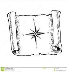 карта с ветром подняла морской компас иллюстрация вектора