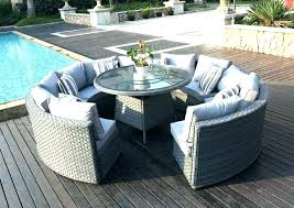 grey rattan outdoor furniture rattan garden furniture grey wicker garden furniture round rattan outdoor patio garden