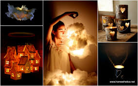 Diy Lamps Easy Diy Beautiful Shimmering Luminaries And Lamps Ideas You