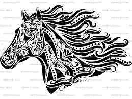25 Vinden Paardenhoofd Met Hoefijzer Kleurplaat Mandala Kleurplaat