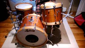 30's-70's Ludwig Slingerland Rogers - Levon Helm style vintage drum set -  YouTube