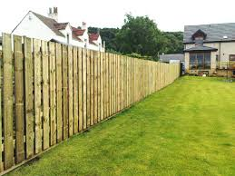 6ft high palisade for a back garden fence