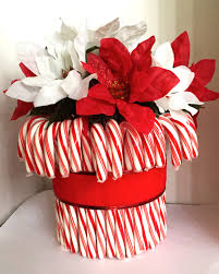 Christmas Decorations Using Candy Canes 60 Holiday Gift Ideas DIY Candy Cane Centerpiece Christmas 16